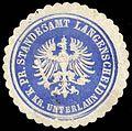 Siegelmarke Königlich Preussisches Standesamt Langenscheid - Kreis Unterlahn W0262715.jpg