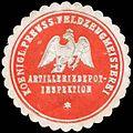 Siegelmarke K.Pr. Feldzeugmeisterei Artilleriedepot-Inspektion W0288071.jpg