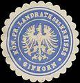 Siegelmarke K.Pr. Landrath des Kreises Gifhorn W0391568.jpg