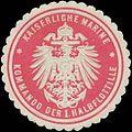 Siegelmarke K. Marine Kommando der I. Halbflottille W0337667.jpg