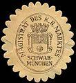 Siegelmarke Magistrat des K. Bayer. Marktes Schwabmünchen W0310163.jpg