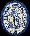 Siegelmarke Siegel der Gemeinde Langenwolschendorf W0310726.jpg