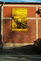 Siegfried Neuenhausen Künstlerwand Bertramstraße 1991 Rob Scholte Schrei nach Edvard Munch.jpg