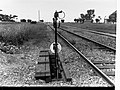 Signal Post on Railway Line at Virginia(GN07482).jpg