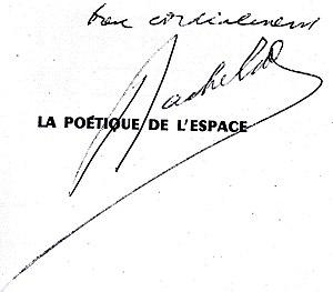 Gaston Bachelard - Image: Signature Gaston Bachelard