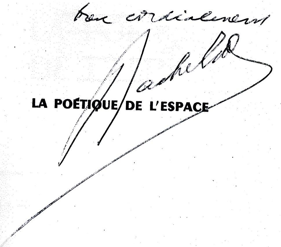 SignatureGastonBachelard