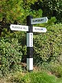 Signpost, Witcha - geograph.org.uk - 988083.jpg