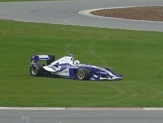 R.S.C. Anderlecht (Superleague Formula team) - R.S.C. Anderlecht car off the track at Silverstone Circuit (2010)