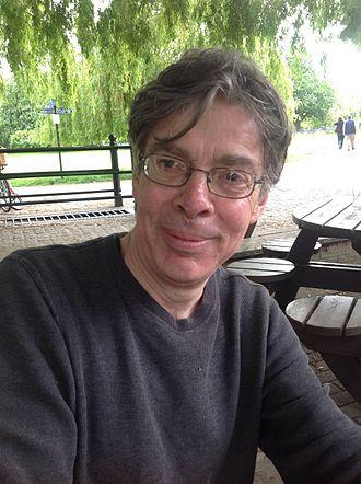 Simon Schaffer - Schaffer at a pub in Cambridge, UK, 2015
