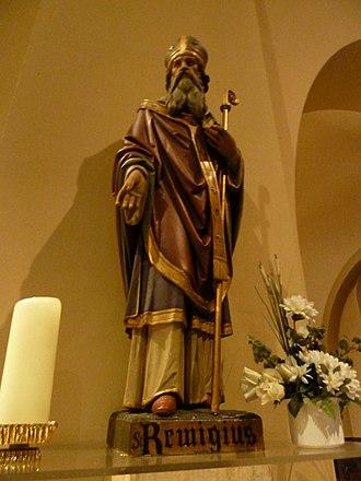 Saint Remigius - Statue of Saint Remigius at the Saint Remigius Church, Simpelveld, Netherlands