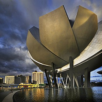 ArtScience Museum - Image: Singapore Art Science Museum 1