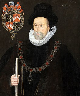 Francis Knollys (the elder) 16th-century English courtier and politician