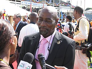 Français : Vivian Richards.