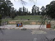 Site of Honeysuckle Creek tracking station, near Canberra, Australia