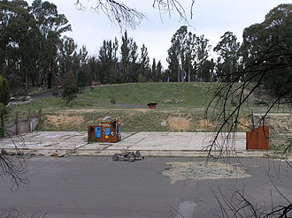 Honeysuckle Creek Tracking Station - The former Honeysuckle Creek tracking station, October 2004