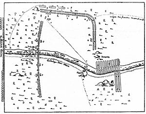 Battle of Napue - A sketch of the Battle