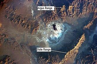 Slate Range (California) - Slate Range, near Searles Dry Lake in the Mojave Desert
