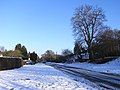 Slushy Christmas in the Old Bath Road, Sonning - geograph.org.uk - 1632597.jpg