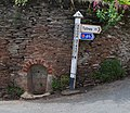 Small well at the Brook Street road junction, Slapton - geograph.org.uk - 1522213.jpg