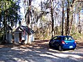 Smallest Church in America next to a Toyota Yaris - panoramio.jpg