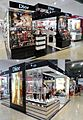 Smith & Caughey's Queen Street Dior counter double view 2013.jpg