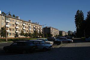 Snezhinsk - A street in Snezhinsk