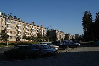 Snezhinsk Town in Chelyabinsk Oblast, Russia