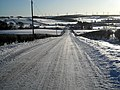 Snow Covered Road to Nether Enoch - geograph.org.uk - 1651587.jpg