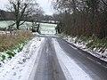 Snow on the Craneystown Road, Ballymave - geograph.org.uk - 1633615.jpg