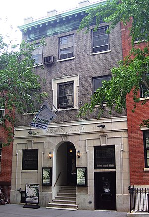 History of New York City (1898–1945) - Huron Club, formerly a neighborhood Democratic club
