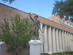 Angelina County, Texas - Soldiers Monument at Angelina County Courthouse