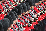 Soldiers Trooping the Colour, 16th June 2007