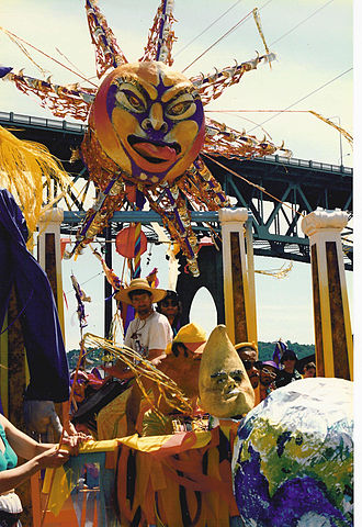 Fremont Solstice Parade - Solstice Parade, 1992