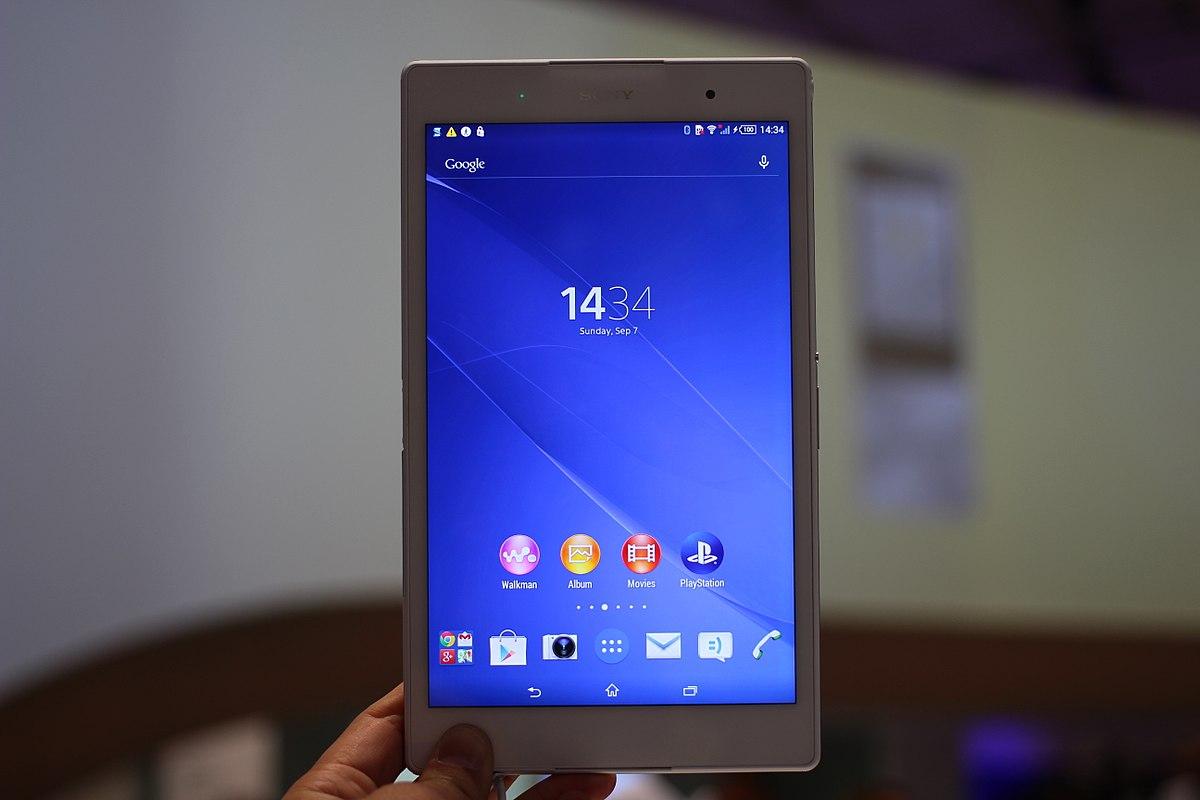 Amazing Sony Xperia Z3 Tablet Compact Wikipedia Interior Design Ideas Grebswwsoteloinfo