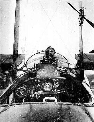 Sopwith Triplane - Triplane cockpit