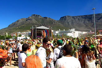 Religion in South Africa - Hindu festival Holi celebrations in South Africa