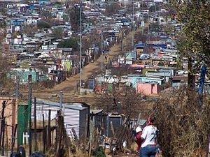 Soweto - Soweto housing (about 2009)