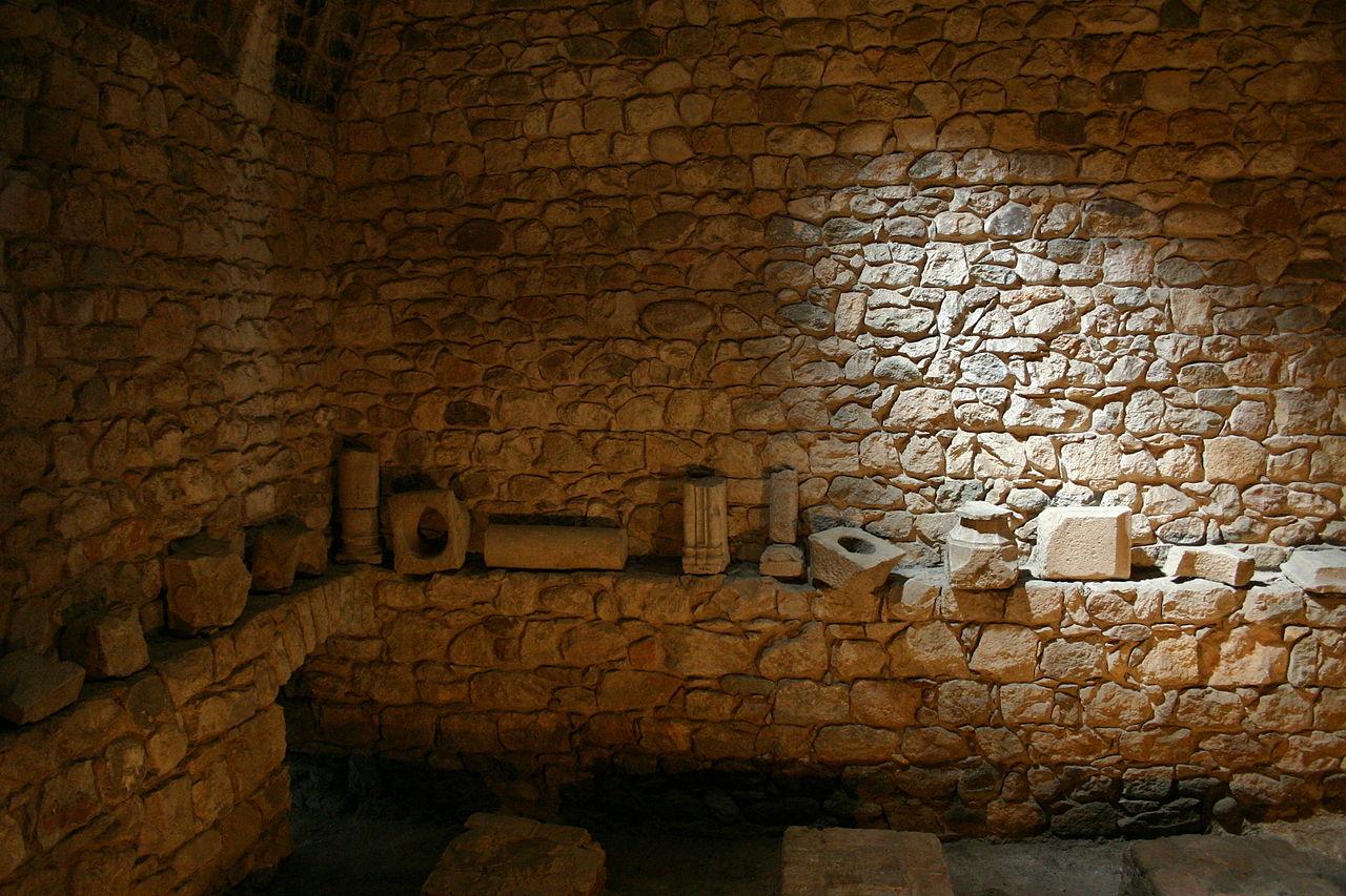 Baños Romanos Girona:era el cuarto de baño tibio (de tepidus ) de los baños romanos