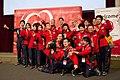 Special Olympics World Winter Games 2017 reception Vienna - Japan team.jpg