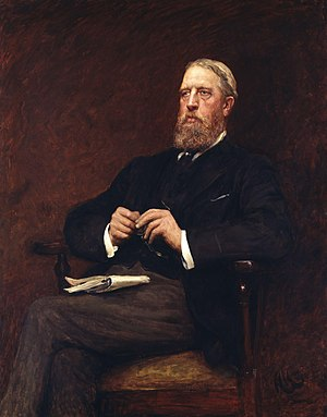 Liberal Unionist Party - The Liberal Unionists' leader, the Duke of Devonshire (1897, NPG).