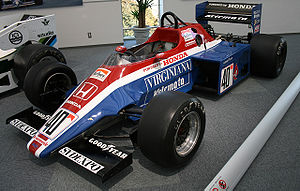 Spirit Racing - Spirit's first Formula One chassis, the 201C.