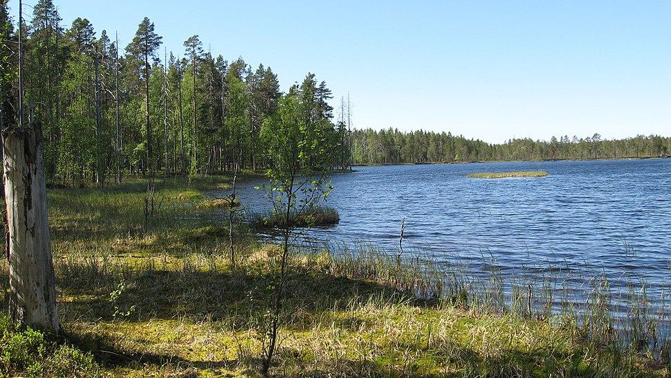 Spitaalijärvi Lauhanvuori