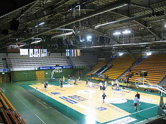 Kaunas Sports Hall - Inside Kaunas Sports Hall