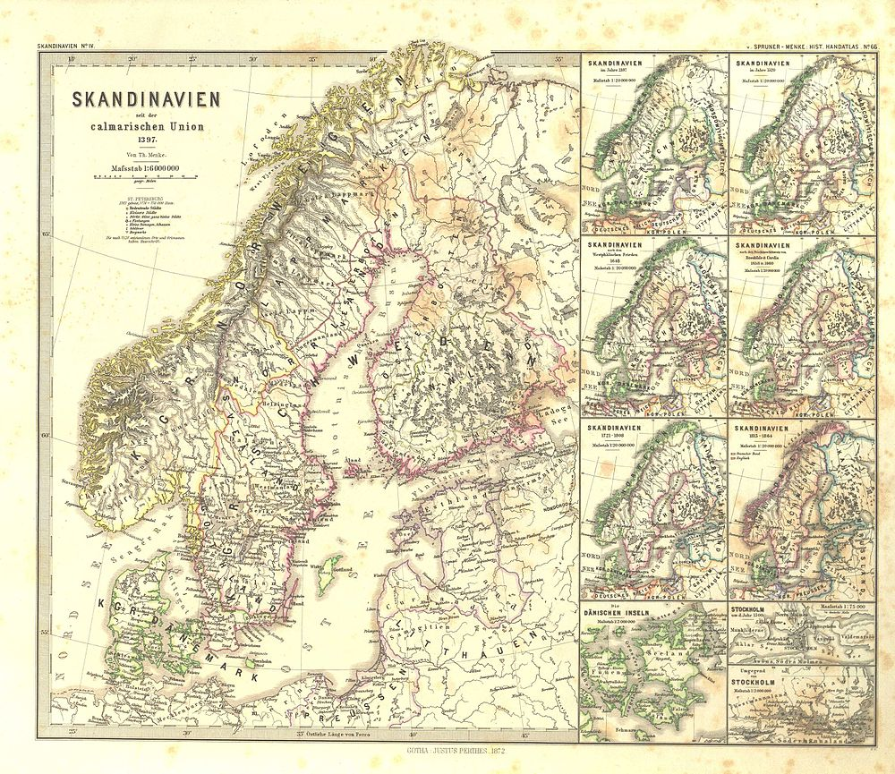 Spruner Menke Handatlas 1880 Karte 66 Wikisource
