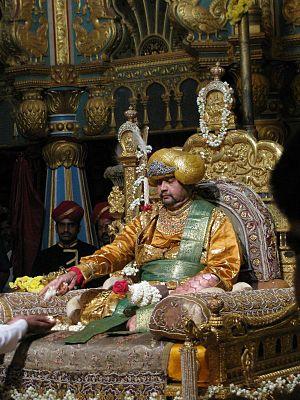 Srikantadatta Narasimharaja Wadiyar - Image: Srikanta Wadiyar of Mysore