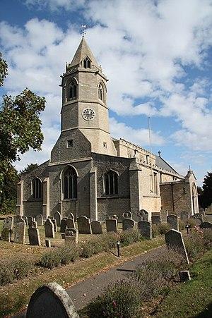 Helpston - Image: St.Botolph's church geograph.org.uk 1514740