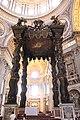 St. Peter's Basilica, St. Peter's Baldachin (Bronze Canopy over the High Altar), 1623-1634 (48466610592).jpg