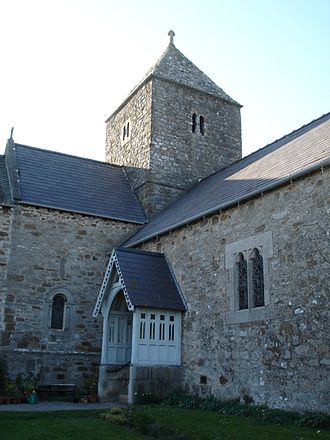 Penmon - St Seiriol's Church