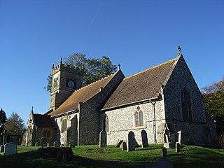 Collingbourne Ducis Human settlement in England