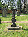 St Alban's Church, Tattenhall sundial.jpg